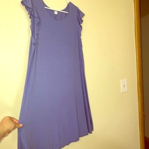 Periwinkle shift dress old navy XL